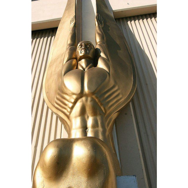 "Art Deco Angel Sculpture ""Wings of the Republic"" - Image 5 of 10"