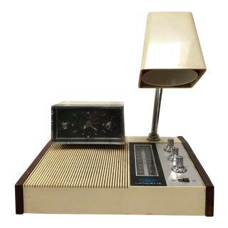 Radio Alarm Clock & Extendable Arm Lamp