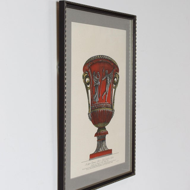 Framed Italian Piranesi Prints - a Pair For Sale In San Francisco - Image 6 of 11