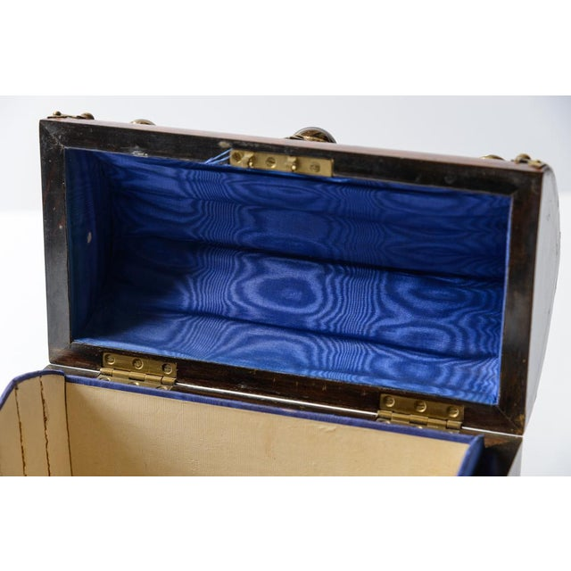 English Yew Wood Box For Sale In West Palm - Image 6 of 7