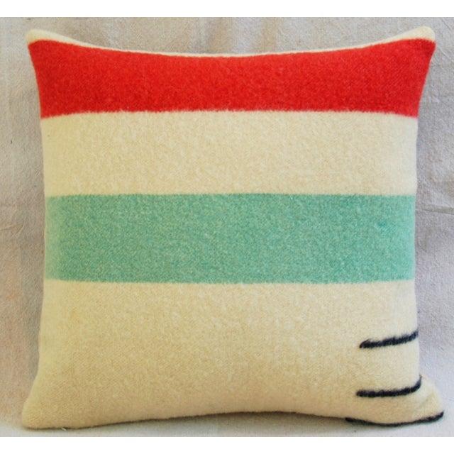 Multi-Striped Hudson's Bay Blanket Pillow - Image 5 of 6