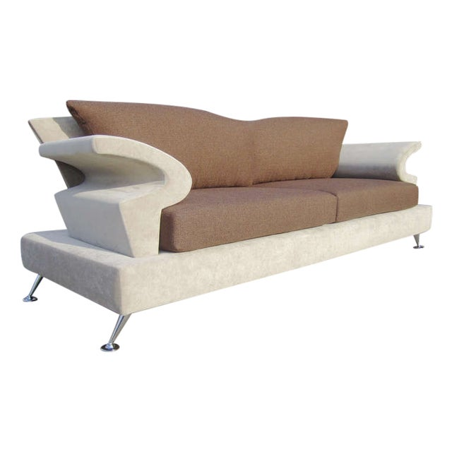 Sculptural Memphis Style Sofa by B&B Italia - Image 1 of 7