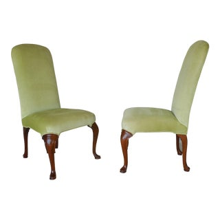 Drexel Heritage Fire Side Accent Chairs - Pair