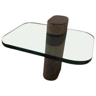 Karl Springer End or Side Table Purchased Directly From Springer For Sale