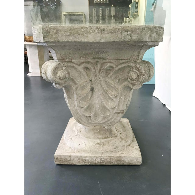 1970s 1970s Faux Stone Table For Sale - Image 5 of 12