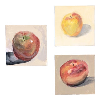 Gallery Wall Collection 3 Fruit Still Life Impressionist Paintings For Sale