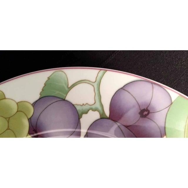 Mediterranean Villeroy & Boch, Gallo Design, Frutteto, Chop/Charger Plates - Set of 5 For Sale - Image 3 of 13