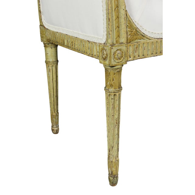 Paint George III Painted Window Bench For Sale - Image 7 of 12
