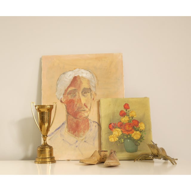 Ghosted Grandma Oil Portrait - Image 3 of 4