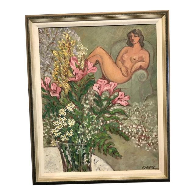 Modern Painting, in the Style of Matisse For Sale