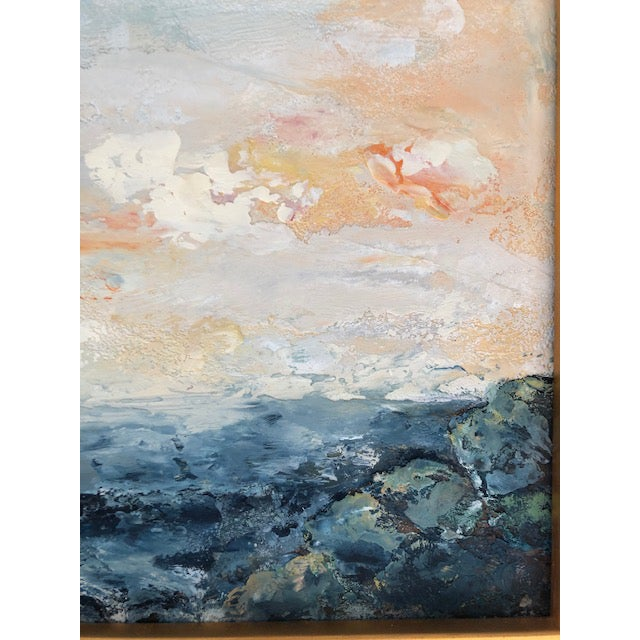 Maeve Erickson is the artist. Maeve has been painting with Encaustics since the early 60's. Maeve's work has been sold in...