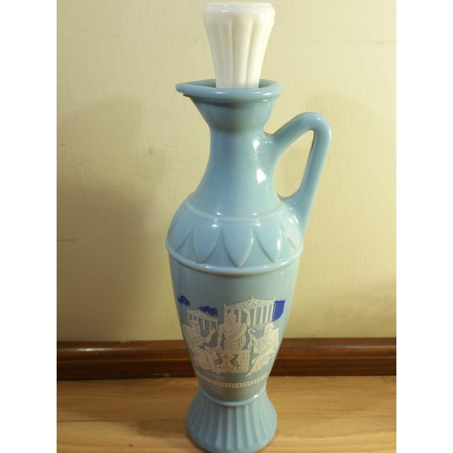 Vintage Jim Beam Milk Glass Decanters - A Pair - Image 4 of 8