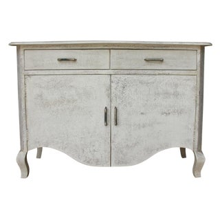 Shabby Chic Margo Two Door Cabinet For Sale