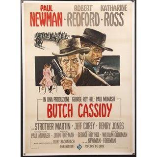 "Italian ""Butch Cassidy & the Sundance Kid"" Poster"