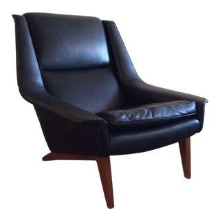 Folke Ohlsson Mid Century Danish Lounge Chair For Sale