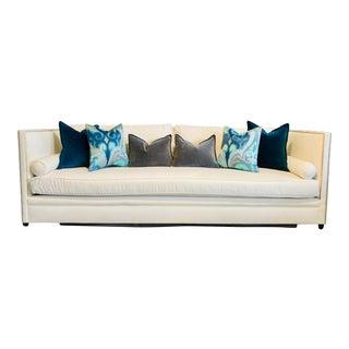 Contemporary White Dunsmier Sofa For Sale