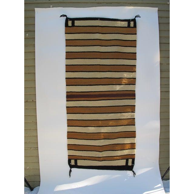 Striped Navajo Rug - 2′6″ × 5′6″ - Image 6 of 10