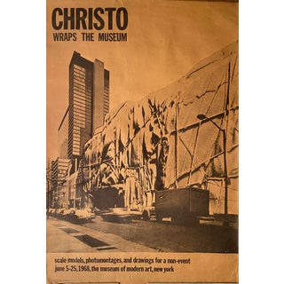"1968 ""Christo Wraps the Museum"" Scale Models, Photomontages, and Drawings for The Museum of Modern Art, New York For Sale"