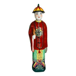 Late 20th Century Male Figurine For Sale
