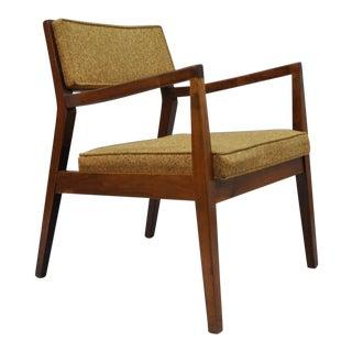 Vintage Mid-Century Jens Risom Playboy Walnut Chair