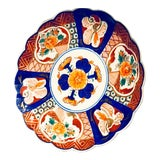 Image of Antique Chinese Imari Plate, Late 19th Century For Sale
