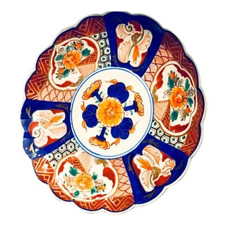 Antique Chinese Imari Plate, Late 19th Century For Sale