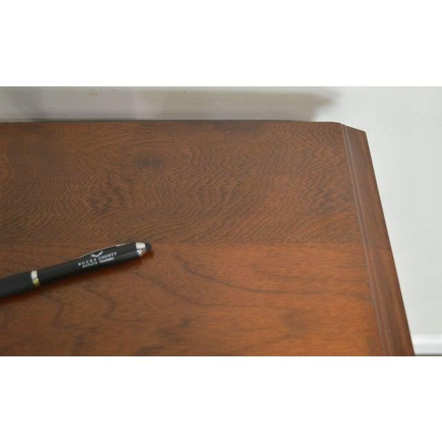 Antique Victorian Walnut Eastlake 4 Drawer Lock - Side High Chest For Sale - Image 9 of 12