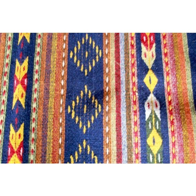"""Mexican Pedal-Loom Rug - 2' x 3'3"""" - Image 3 of 4"""