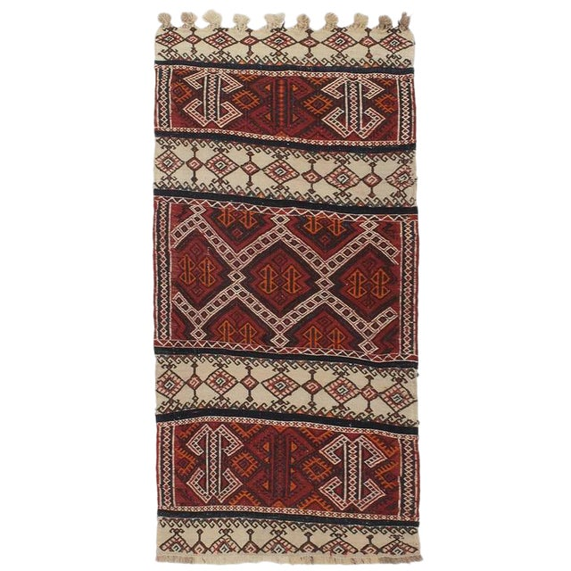 Small Kurdish Kilim For Sale