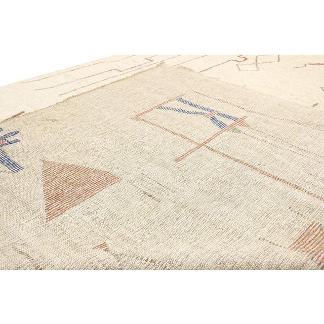 """Textile Contemporary Moroccan Style Rug - 10′3"""" × 13′6″ For Sale - Image 7 of 9"""