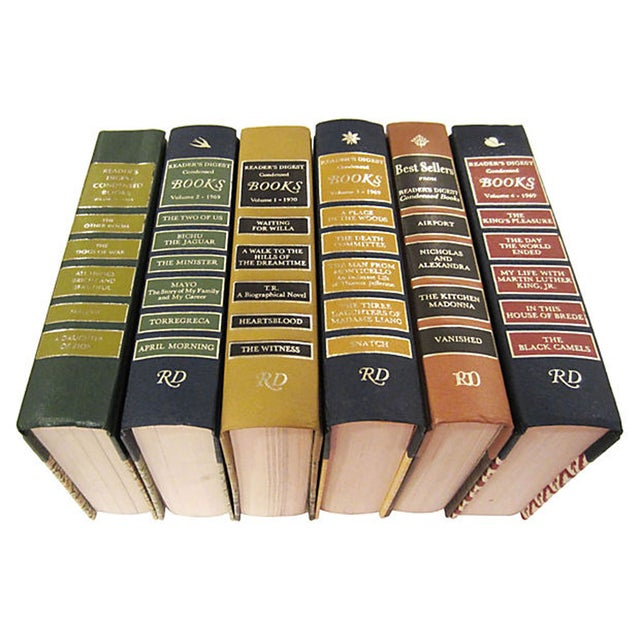 Reader's Digest Condensed Novels - Set of 6 - Image 1 of 7