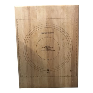 1970s Vintage Pastry Board With Measurements For Sale