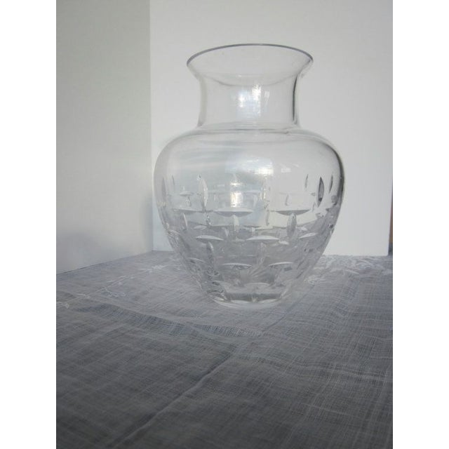 Authentic Tiffany Crystal Glass Vase - Image 2 of 7