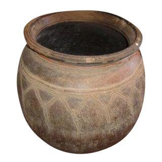 Antique African Ceramic Vessel For Sale
