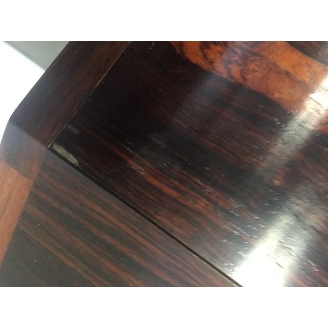 Brown Midcentury Torbjørn Afdal Rosewood Desk For Sale - Image 8 of 9