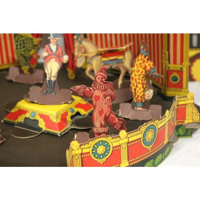 Antique 1920s Paper Circus Game Set - Image 8 of 9