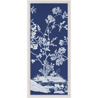 Blue Tree Panel 1, Framed Artwork For Sale