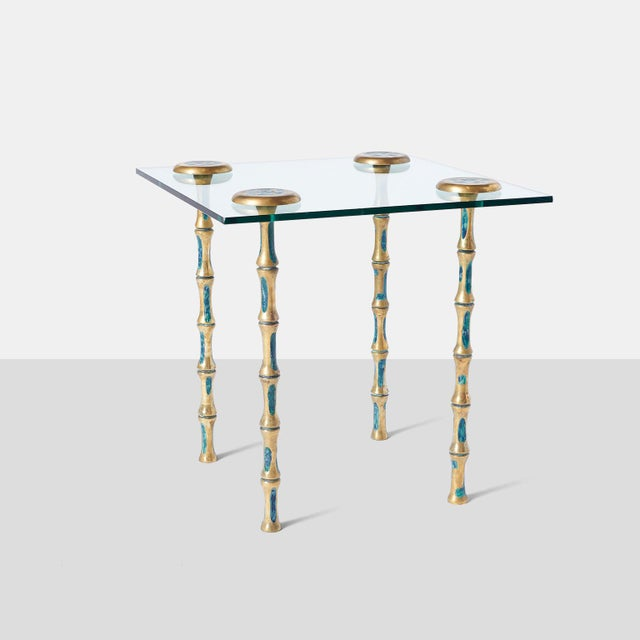 Mid-Century Modern Pair of Side Tables by Pepe Mendoza For Sale - Image 3 of 7