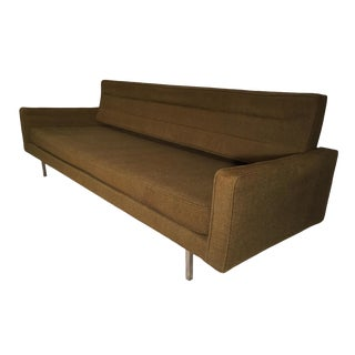 Vintage Mid Century Richard Shultz for Knoll Convertible Daybed Sofa For Sale