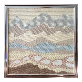 Mid Century Modern Textile Wall Art For Sale