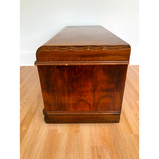 Art Deco Waterfall Storage Trunk For Sale - Image 11 of 13