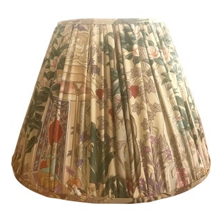 Custom Pleated Lampshade