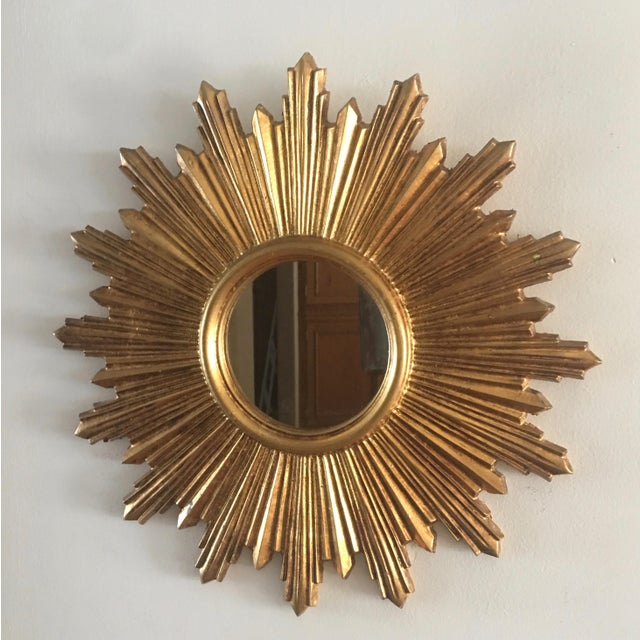 Italian Gilt Sunburst Mirror - Image 5 of 8