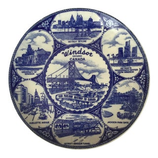 Windsor, Canada Decorative Plate For Sale