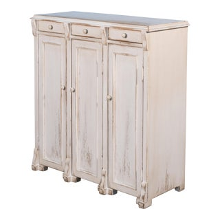 Sarreid White Swan Commode For Sale