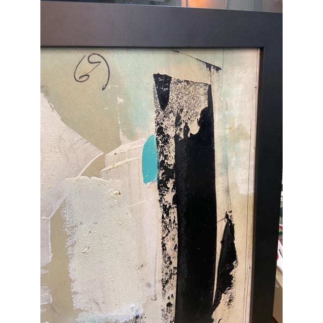 1960s 1969 Graham Harmon Oil Painting For Sale - Image 5 of 10