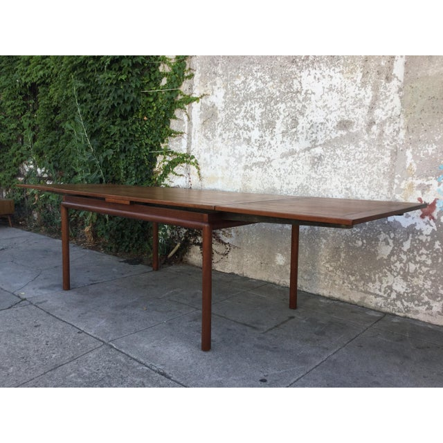 Vintage Mid-Century Modern Dining Table - Image 3 of 6