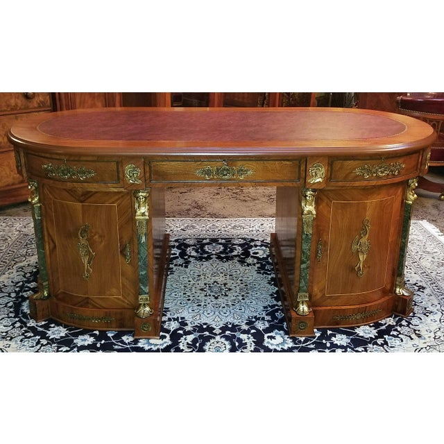 Egyptian Classical Revival Desk For Sale - Image 12 of 12