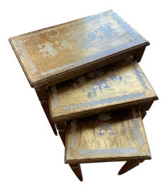 Image of Shabby Chic Nesting Tables