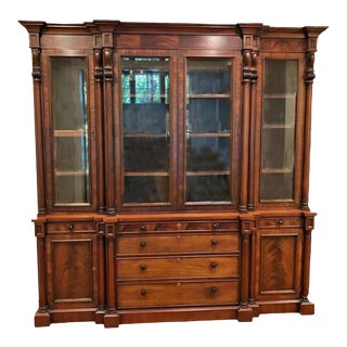 Henredon China Hutch by Ralph Lauren For Sale